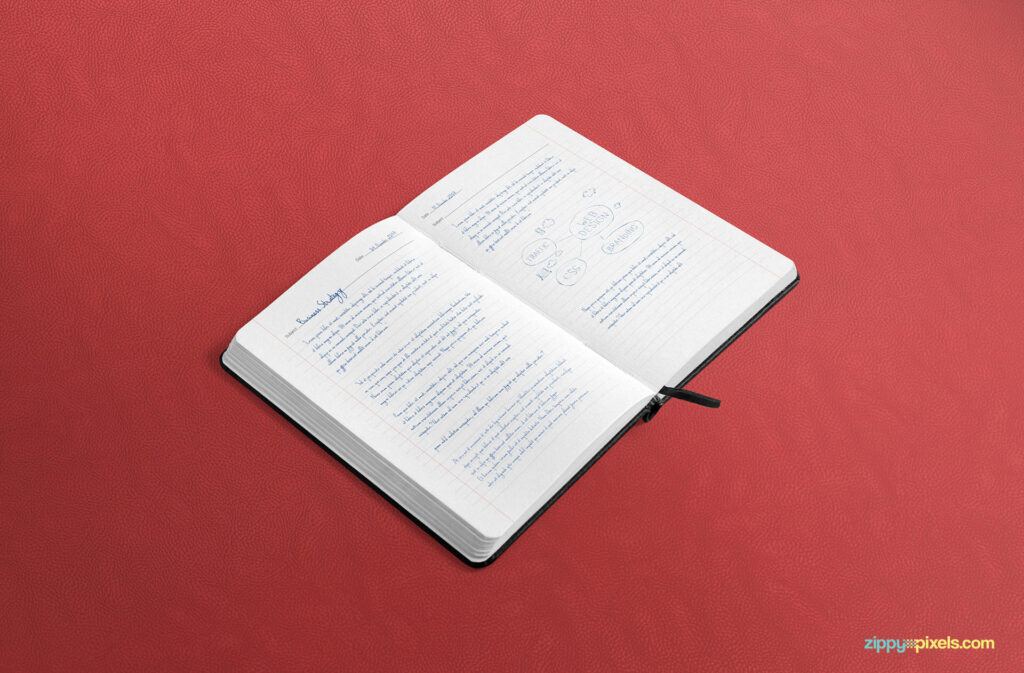 Free Large Notebook Mockup PSD Template2 (1)