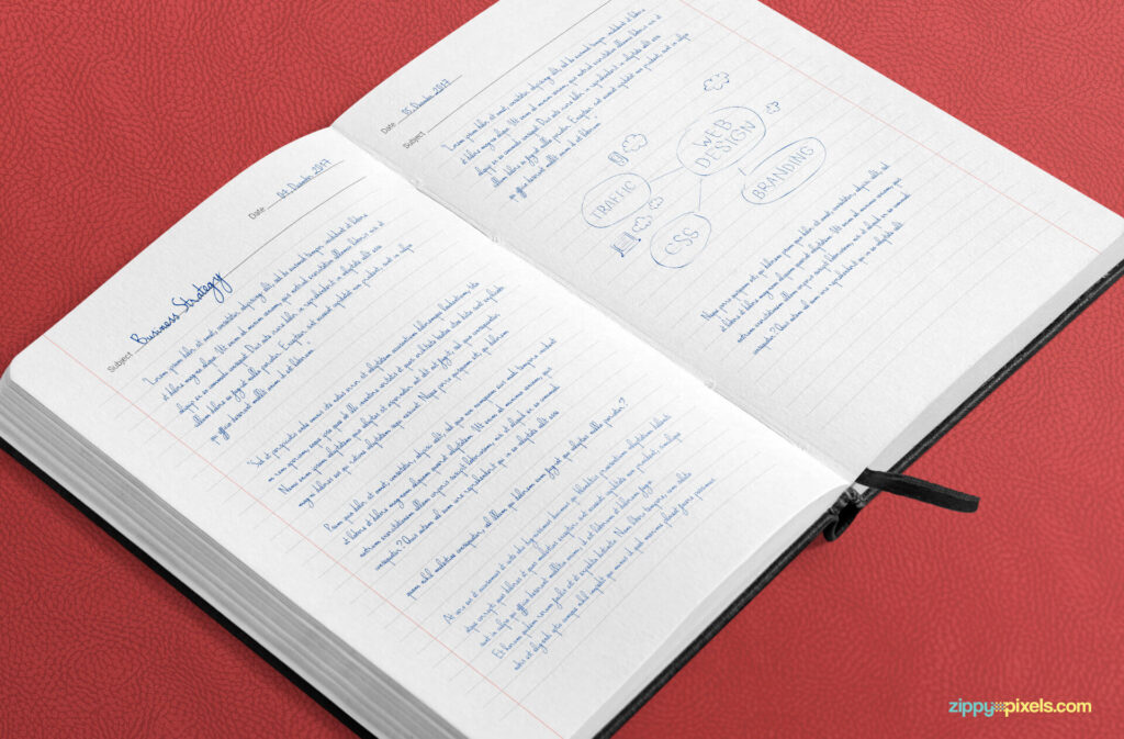 Free Large Notebook Mockup PSD Template3 (1)