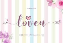 Free Lovea Handlettering Font Demo (1)