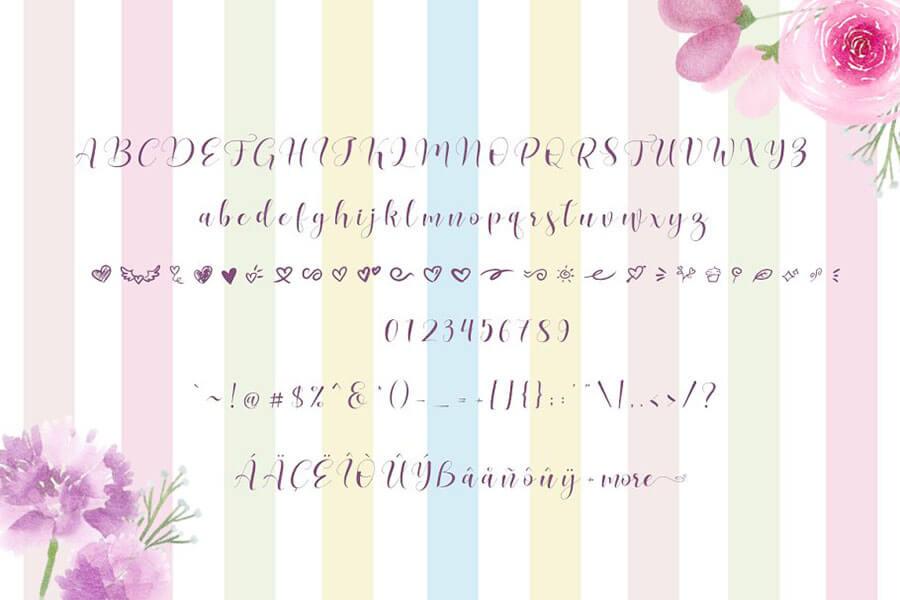 Free Lovea Handlettering Font Demo2 (1)