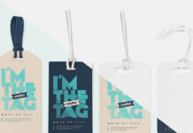 Free Luggage Diaper Tag Mockups PSD Template (1)