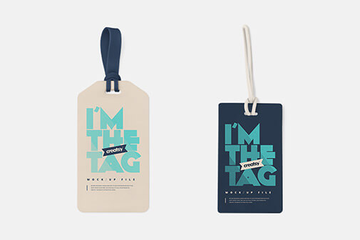 Free Luggage Diaper Tag Mockups PSD Template2 (1)