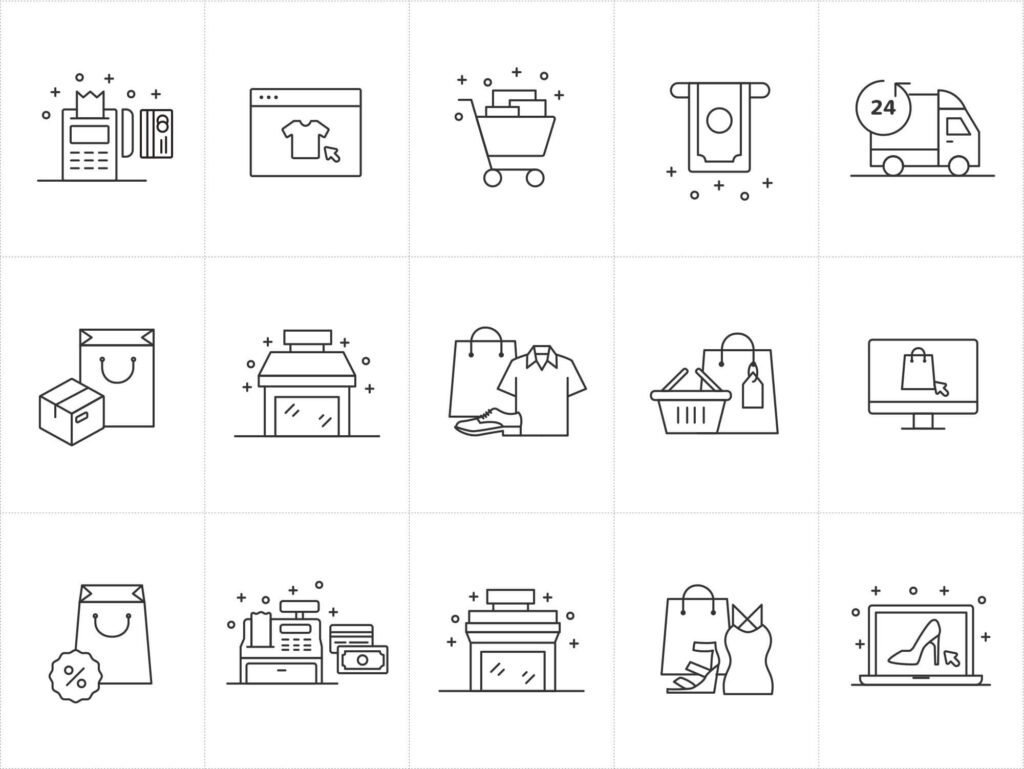 Free New E-commerce Vector Icons1 (1)