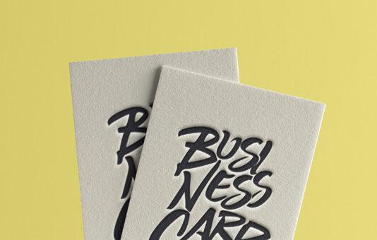 Free Original Business Card Mockup PSD Template (1)
