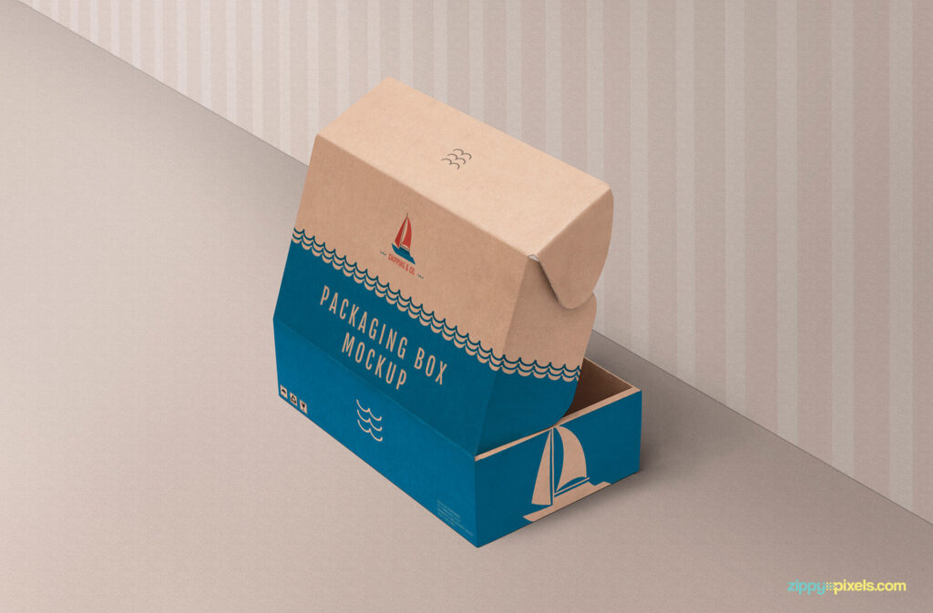 Free Paper Product Box Mockup PSD Template (1)