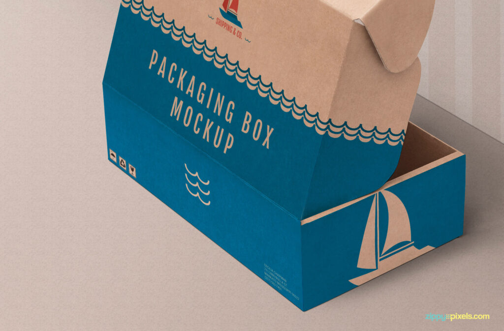 Free Paper Product Box Mockup PSD Template2 (1)