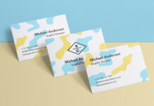 Free Stack Of Business Card Mockup PSD Template (1)