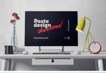 Free Surface Studio Mockup Scene PSD Template (1)