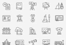 Free Utilizable Education Vector Icons (1)