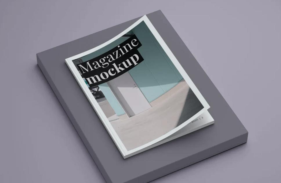 Magazine Cover Mockups