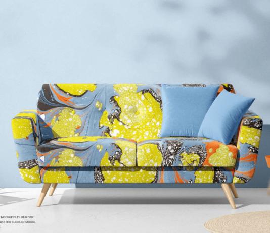 Modern Sofa Mockup Set