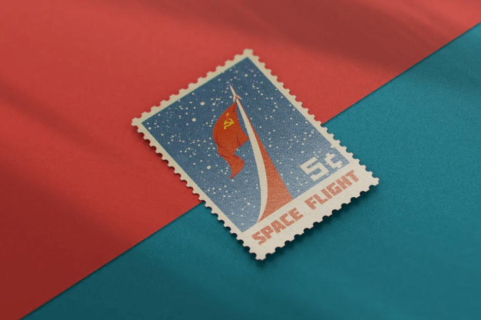 Postage Stamp MockUp v11