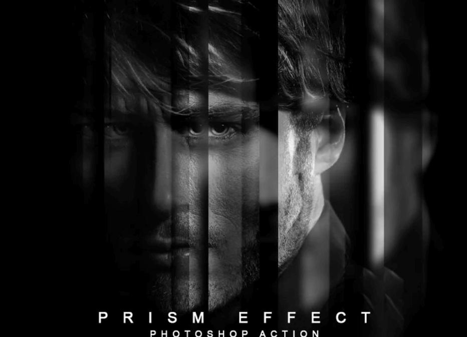 Prism Effect Photoshop Action