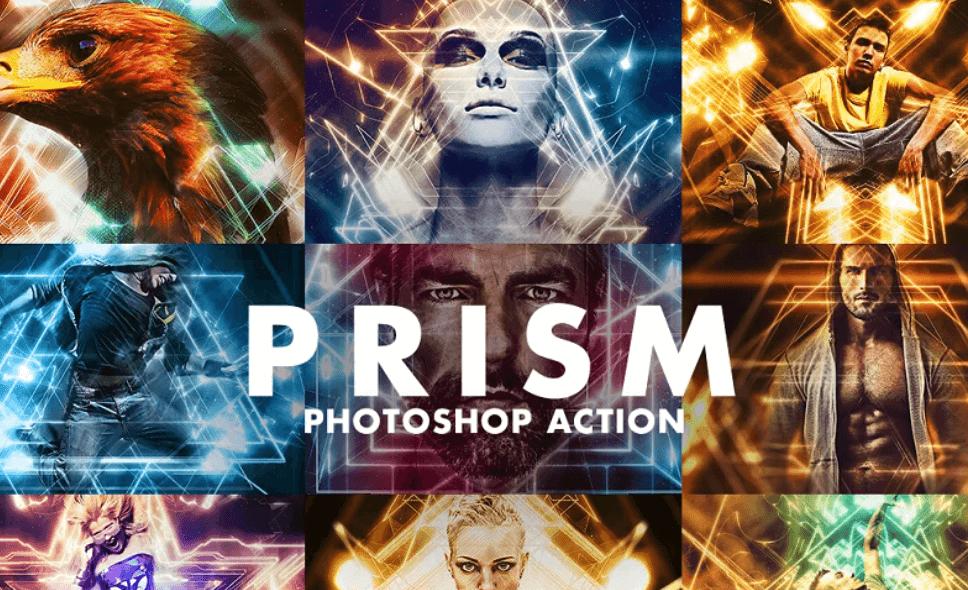 Prism Photoshop Action3