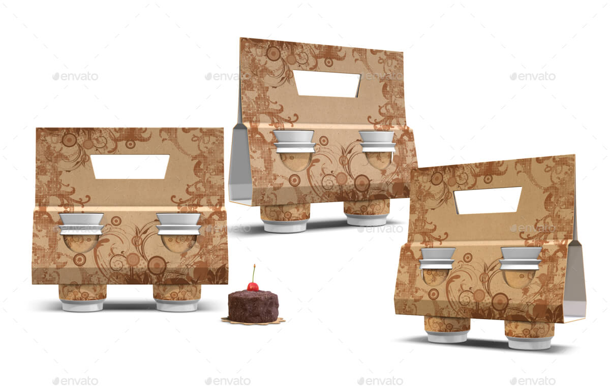 Recycled Paper Cup Sleeve Holder Mockup (1)