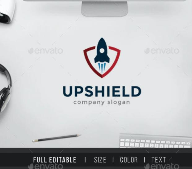 Rocket Shield - Startup Security Logo