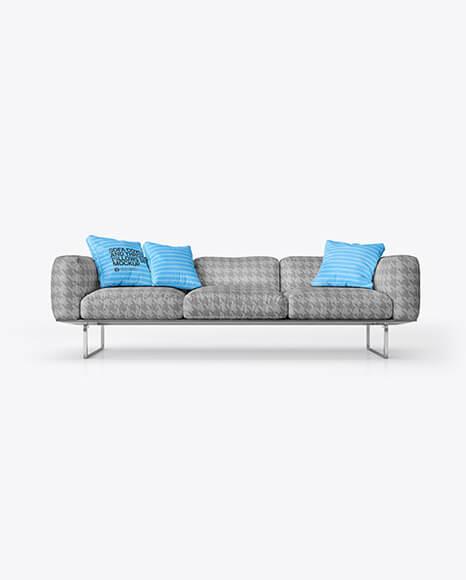 Sofa Cover and Throw Pillows Set Mockup (1)