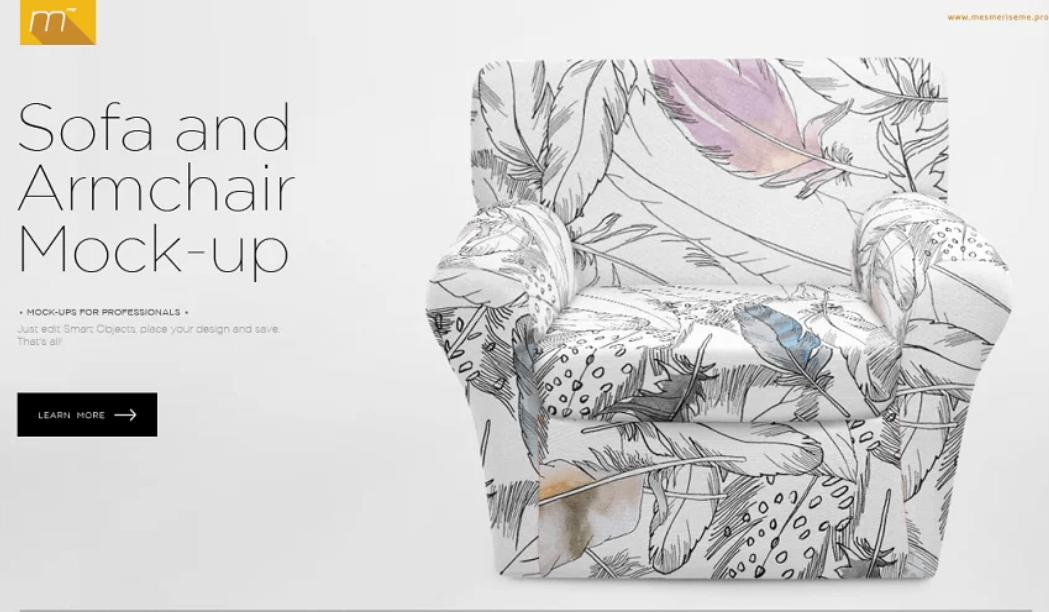 Sofa and Armchair Mock-up