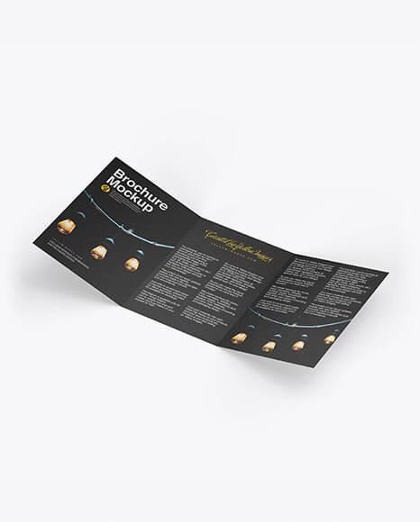 Textured Brochure Mockup (1)