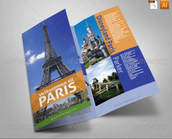 Tourist Guide Tri-Fold