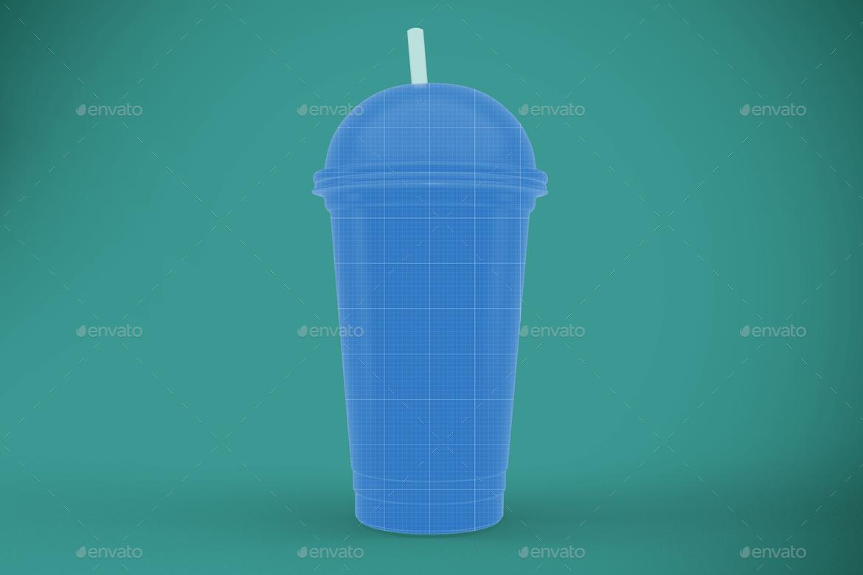 Transparent Plastic Cup (1)
