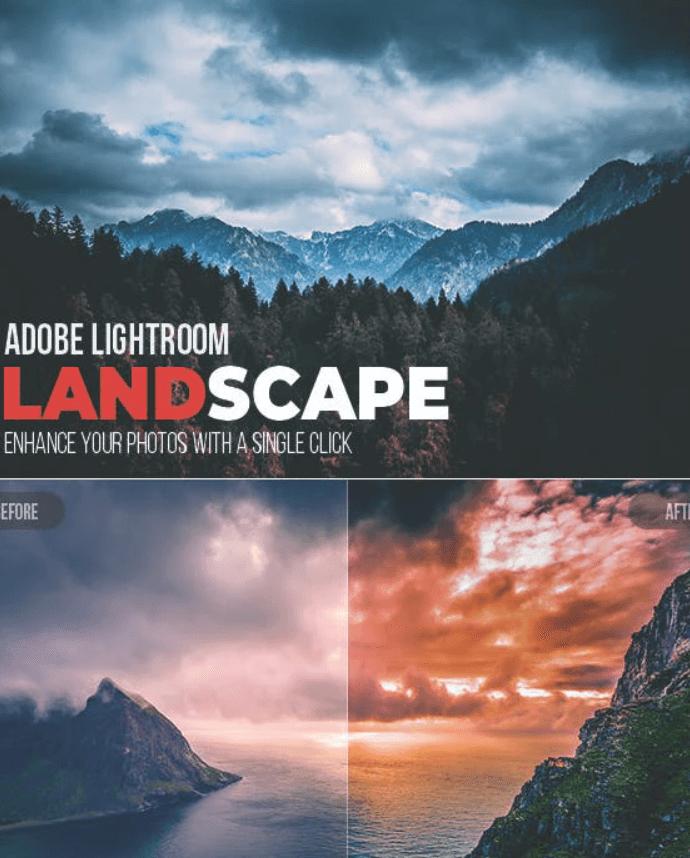 10 Landscape Lightroom Presets