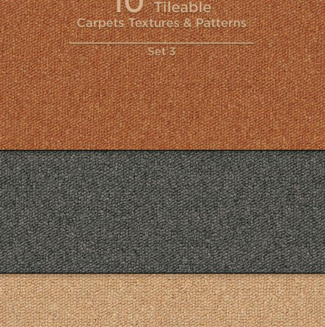10 Tileable Carpet TexturesPatterns