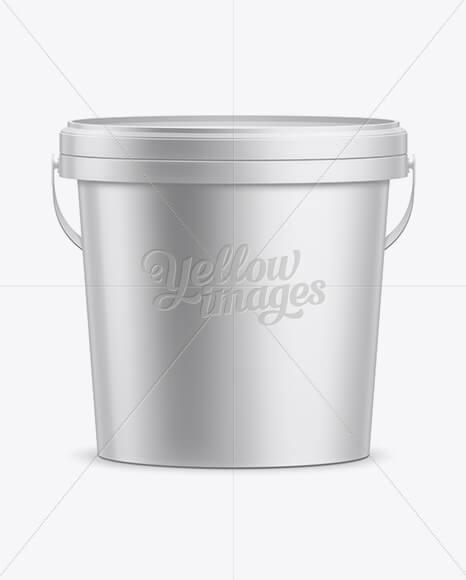10L Plastic Paint Bucket Mockup (1)