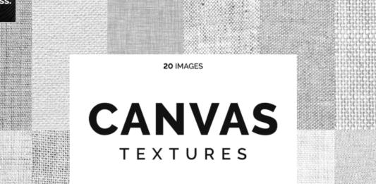 20 White Canvas Textures