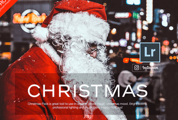 50 Christmas - Lightroom Presets