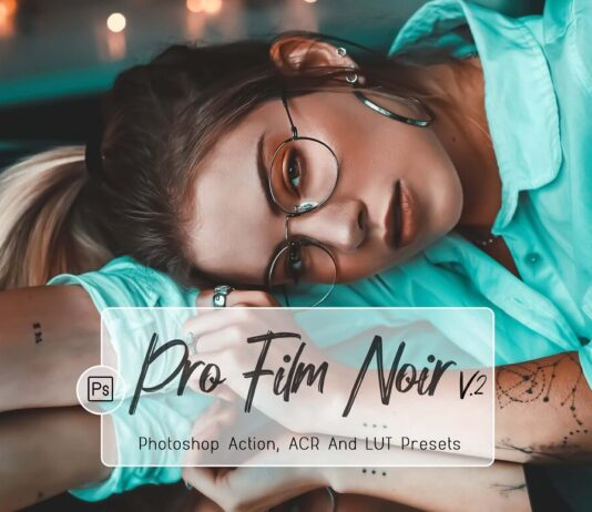 7 Pro Film Noir Ps , ACR, LUT Filter (1)