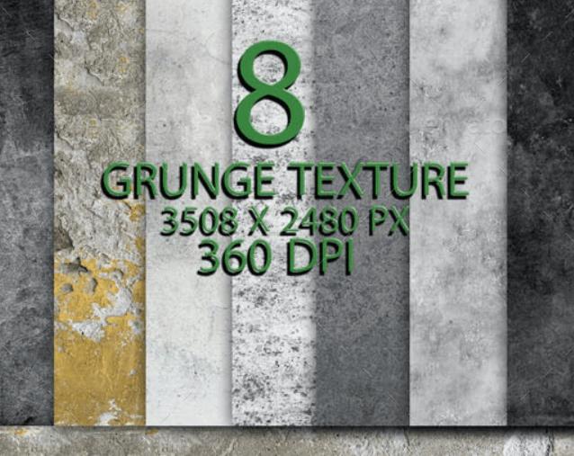 8 Gold Grunge Background 170421