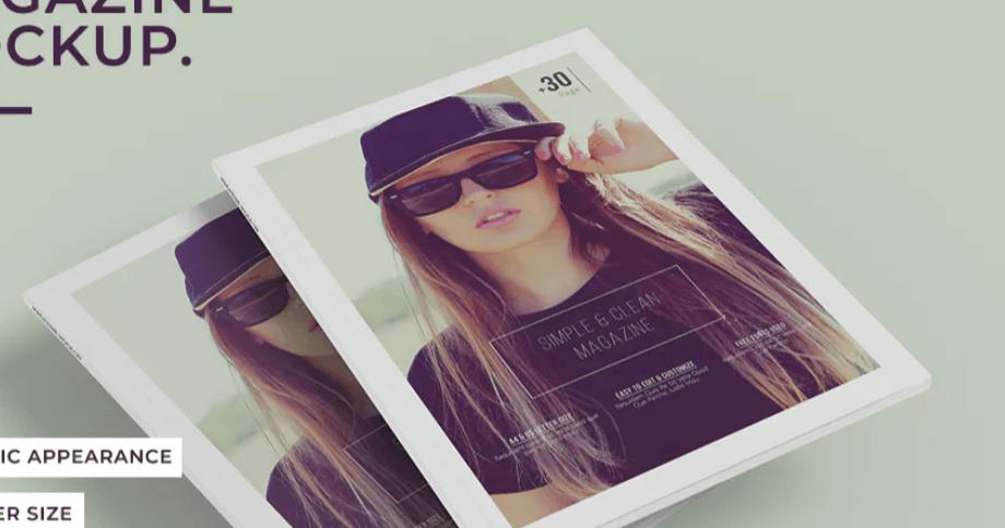 A4 Magazine Mock-Ups