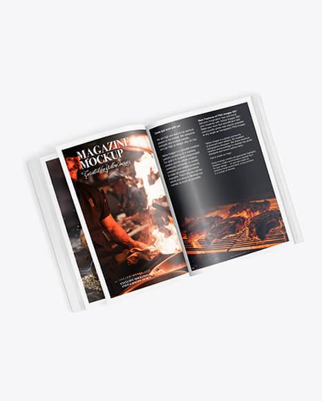 A4 Magazine Mockup (1)
