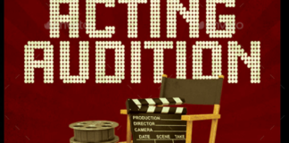 Acting Audition Flyer