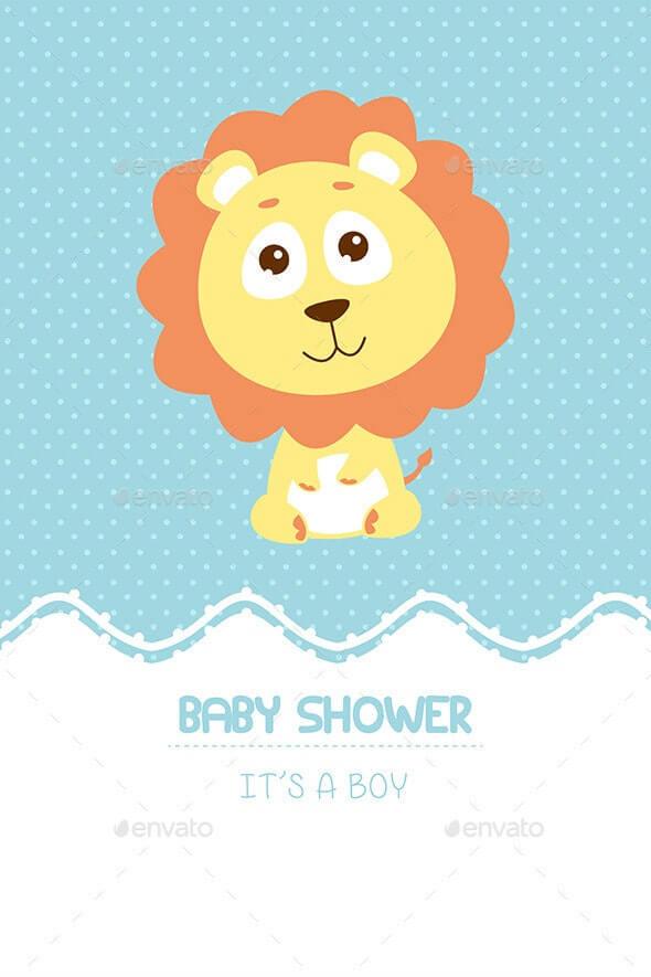 Baby Shower Invitation Card (1)