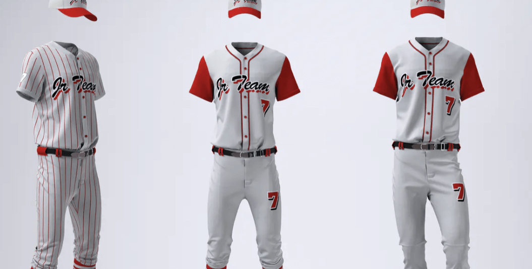 Baseball Team Uniform Mock-up