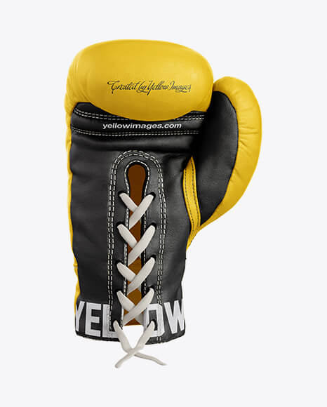 Boxing Glove Mockup - Back View1 (1)