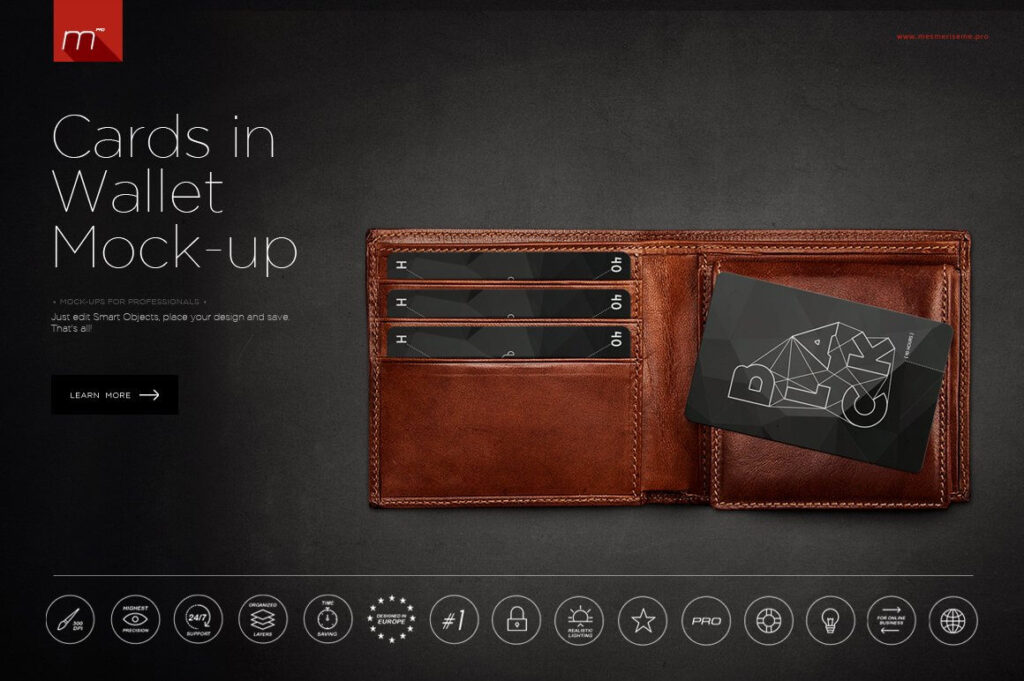 Cards in Wallet Mock-up (1)