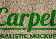 Carpet Realistic Mockup
