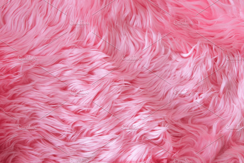 Close up pink fur texture or carpet stock photo containing carpet and soft