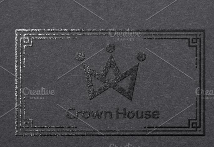Crown House Logo Template