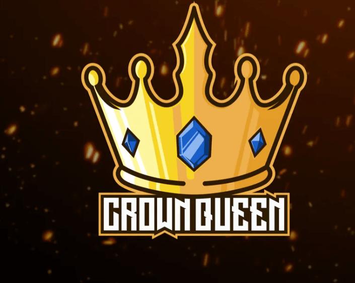 Crown Queen Gold Logo