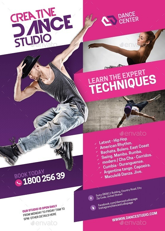 Dance Arts and Tutoring Flyer (1)