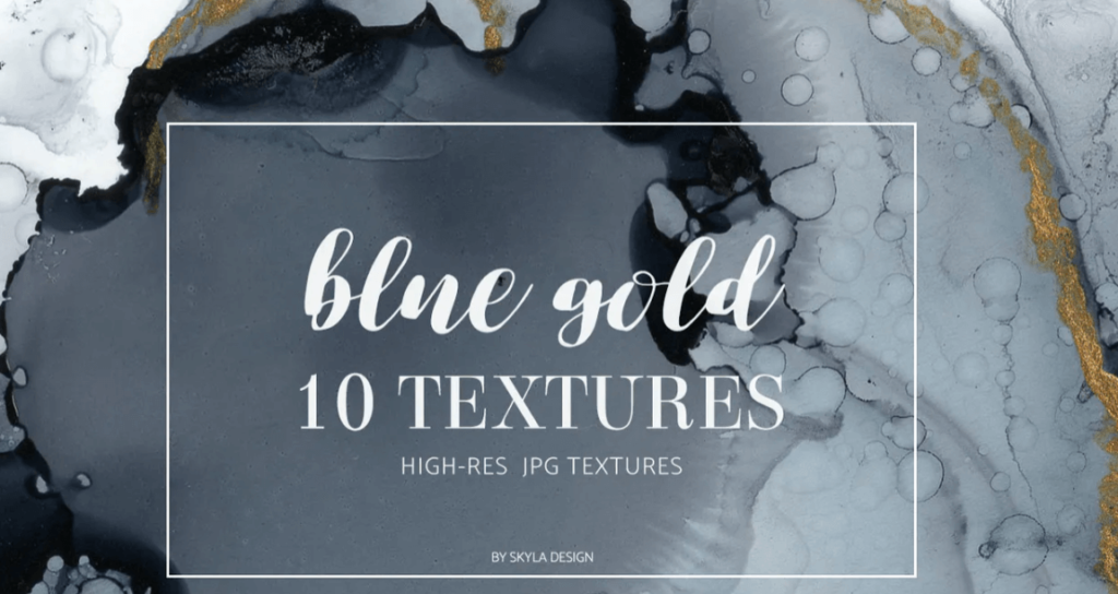 Dark blue gold texture backgrounds