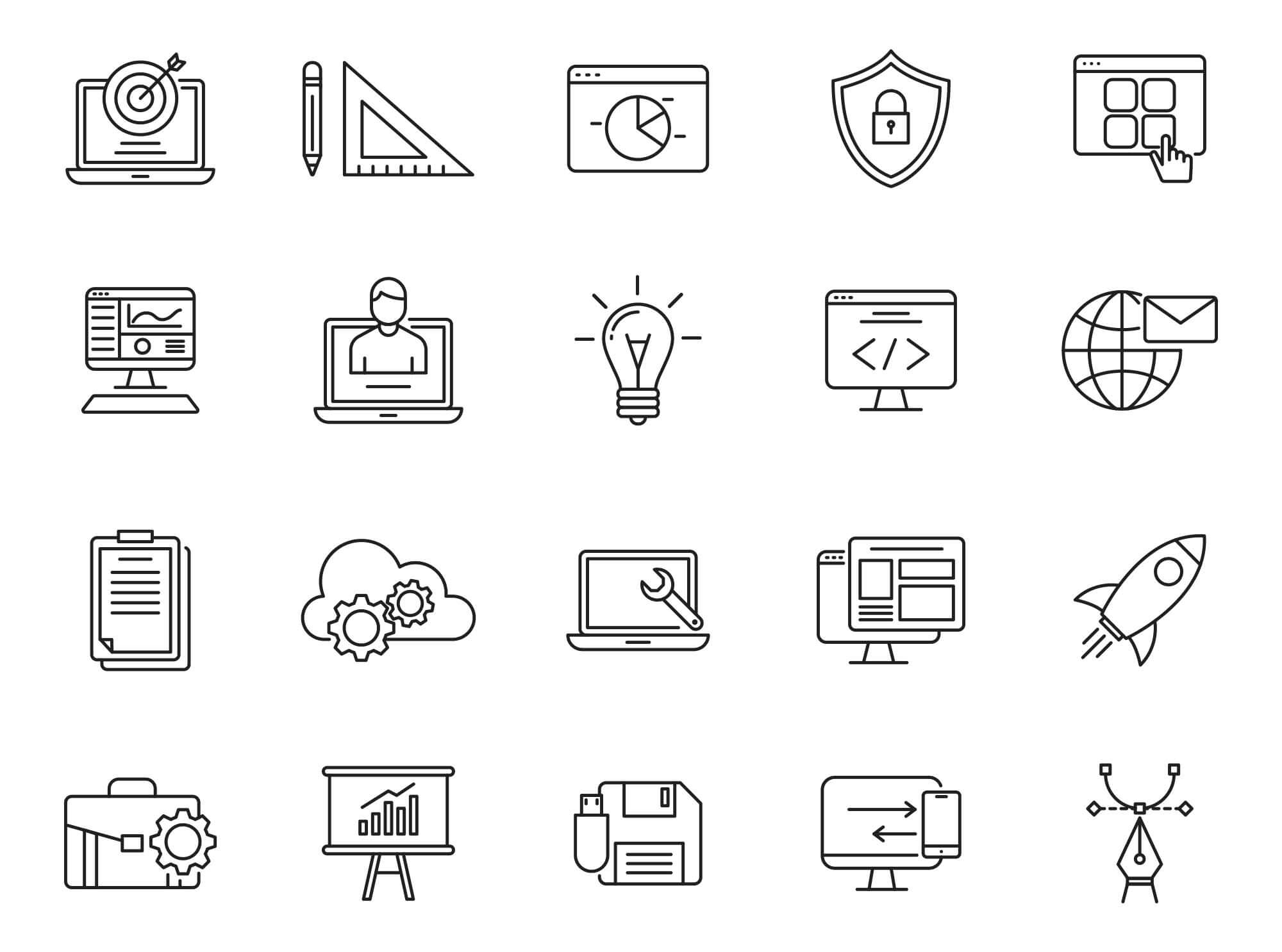 Design & Development Icons Part 03 (1)