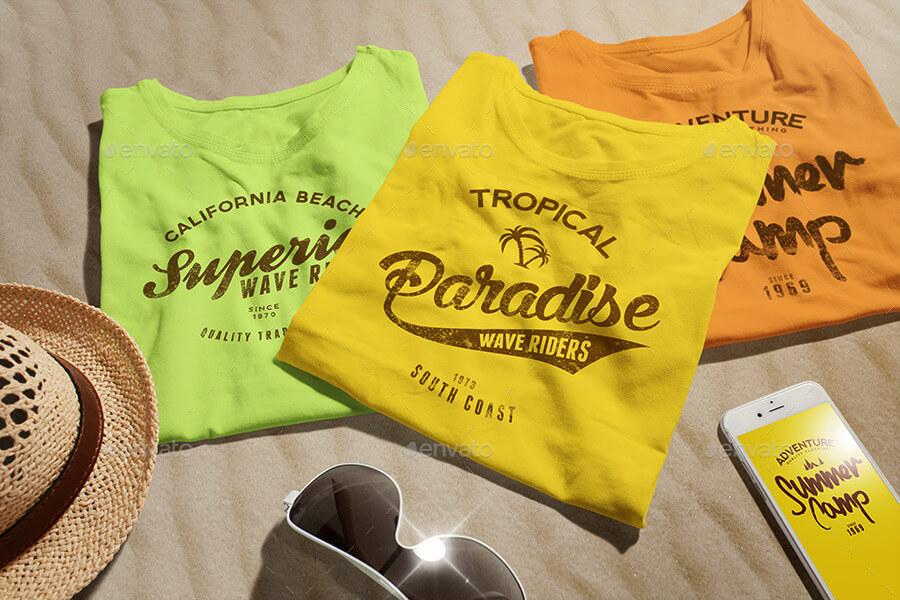 Female T-shirt Mock-up (1)