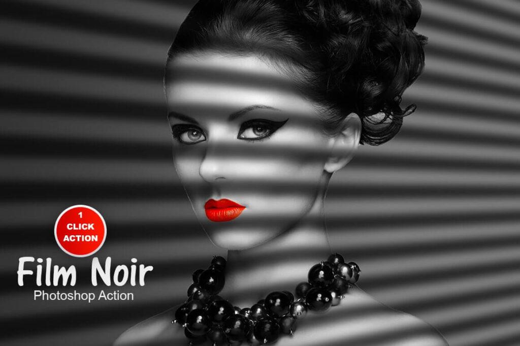 Film Noir Photoshop Action (1)
