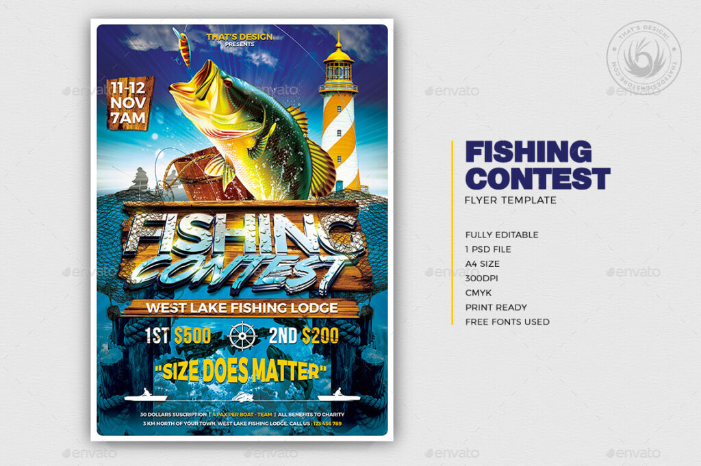 Fishing Contest Flyer Template1 (1)