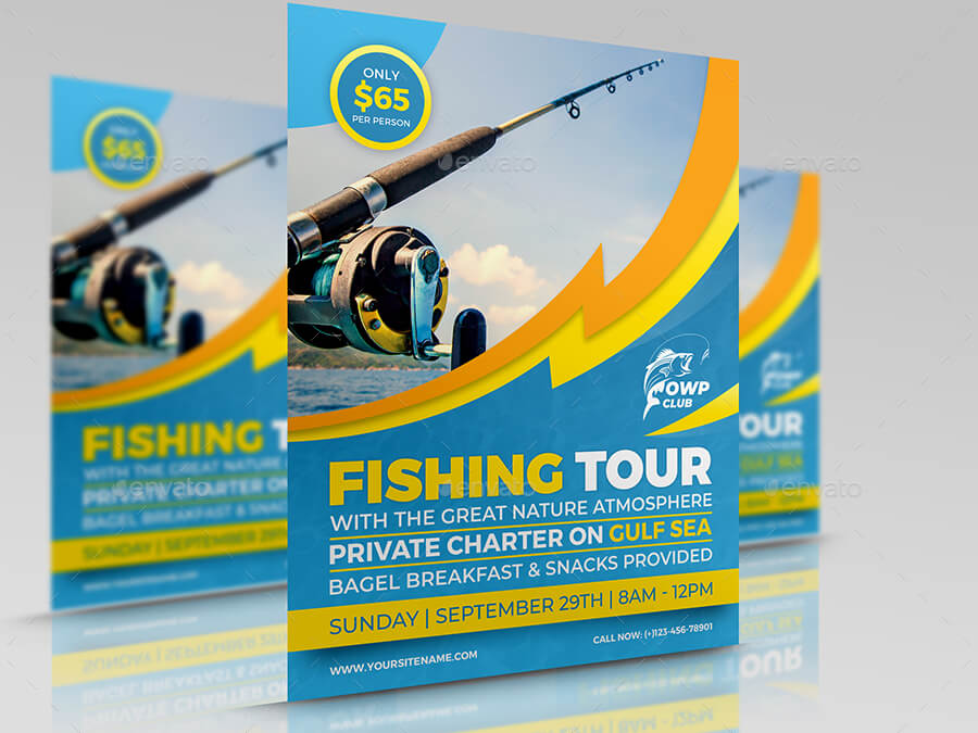 Fishing Flyer Template (1)